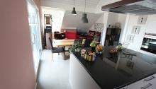 Cuisine-séjour - Sullens - Appartement
