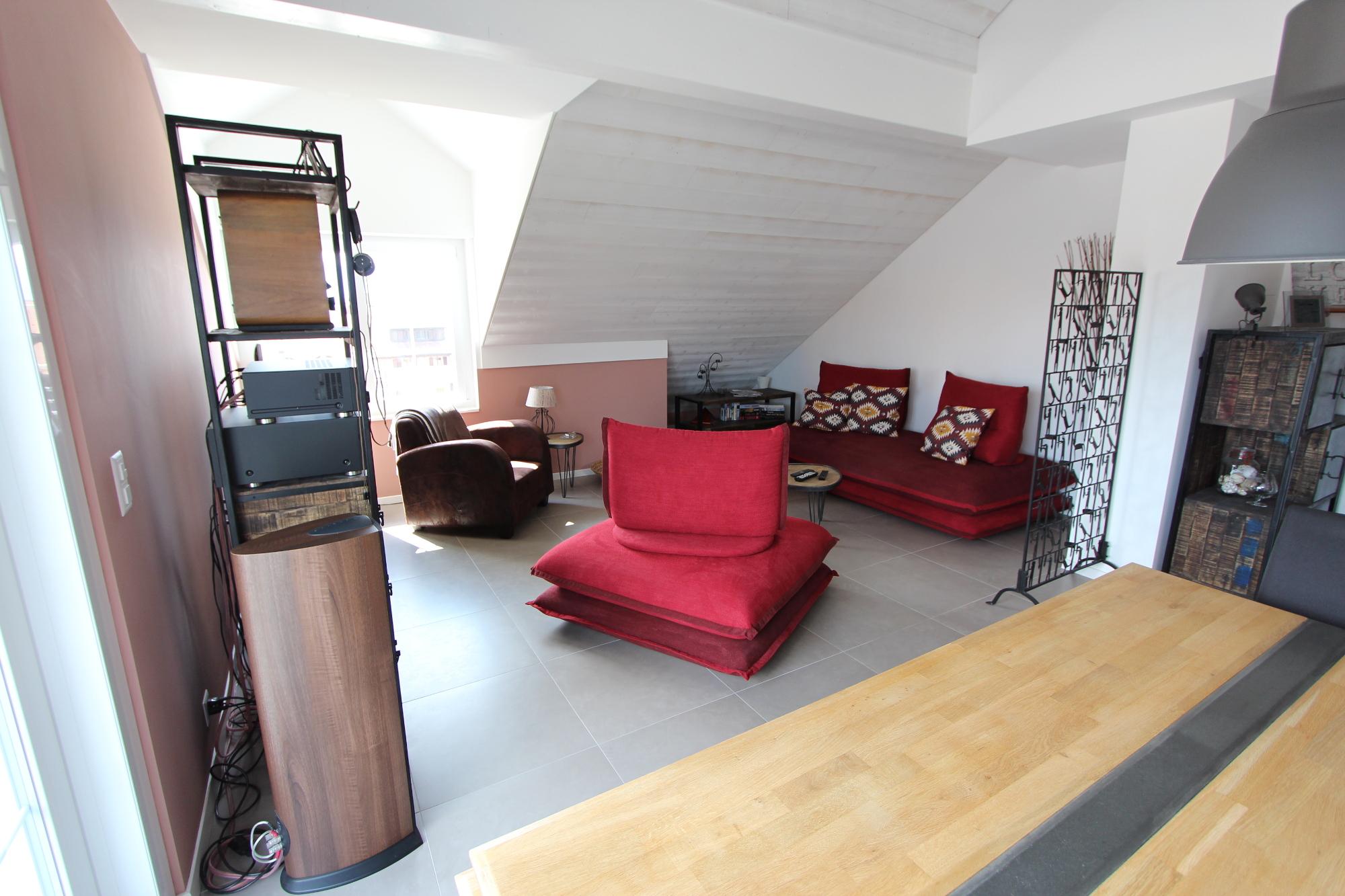 Séjour- Sullens - Appartement